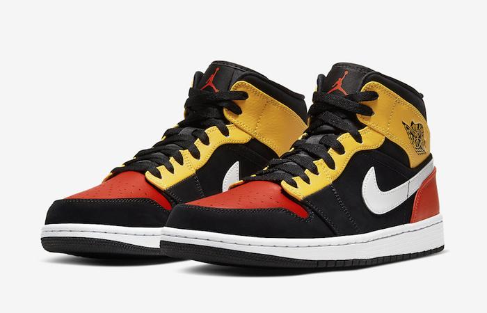 Jordan 1 Mid Amarillo Orange 852542-087 05