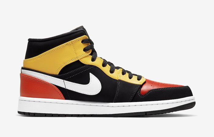 Jordan 1 Mid Amarillo Orange 852542-087 06