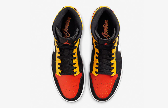 Jordan 1 Mid Amarillo Orange 852542-087 07