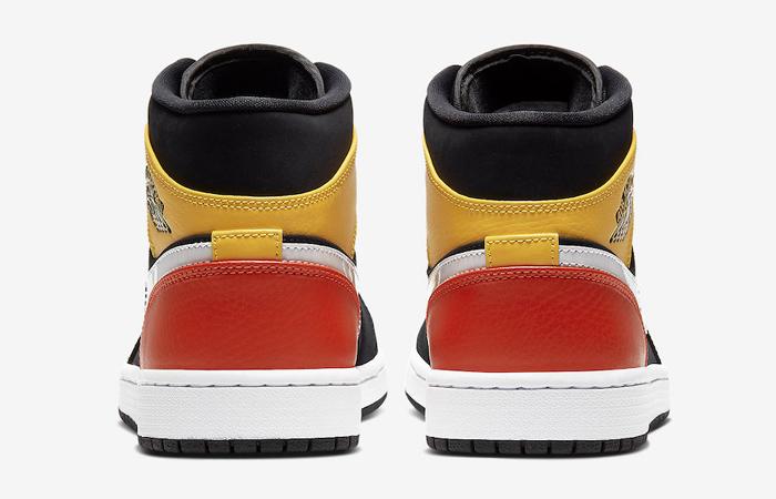 Jordan 1 Mid Amarillo Orange 852542-087 08