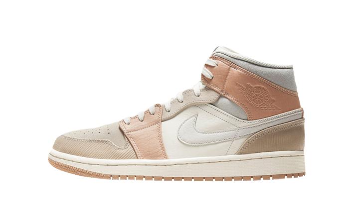 Jordan 1 Mid Cream Peach CV3044-100 01