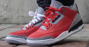 Jordan 3 Chicago All-Star Red Cement Release Date Is Closer