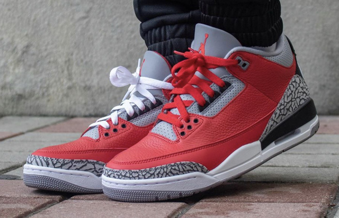 Jordan 3 Chicago All-Star Red Cement Release Date Is Closer ft