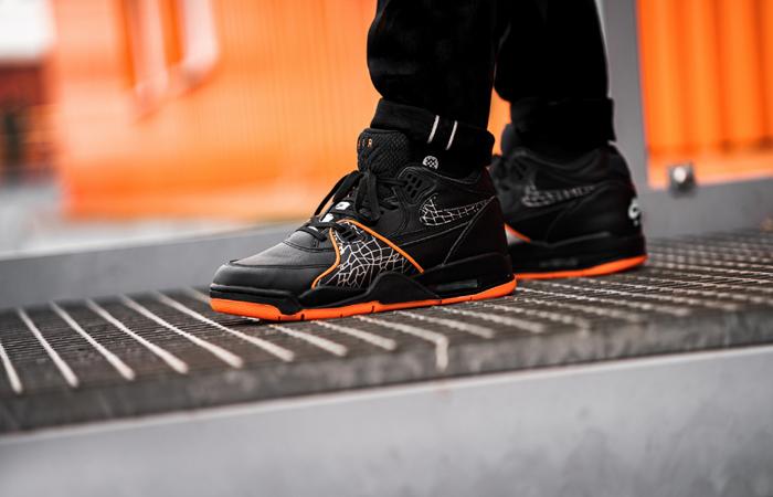 Nike Air Flight 89 All-Star Orange Black CT8478-001 on foot 01