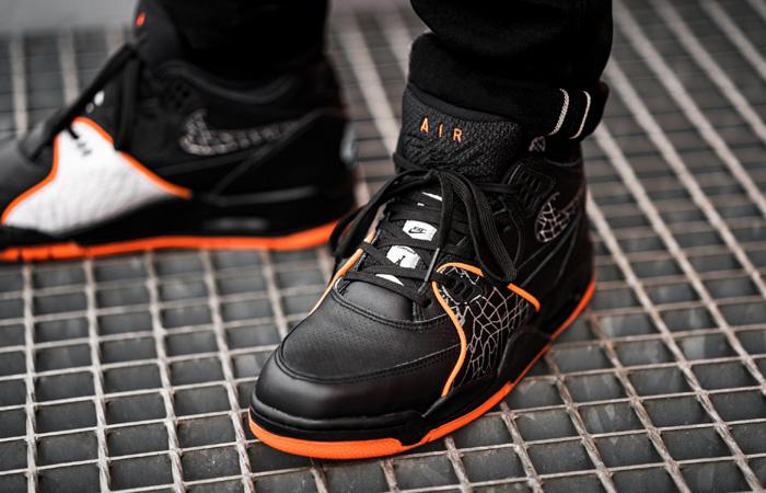Nike Air Flight 89 All-Star Orange Black CT8478-001 on foot 02