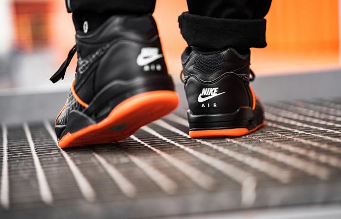 Nike Air Flight 89 All-Star Orange Black CT8478-001 on foot 03