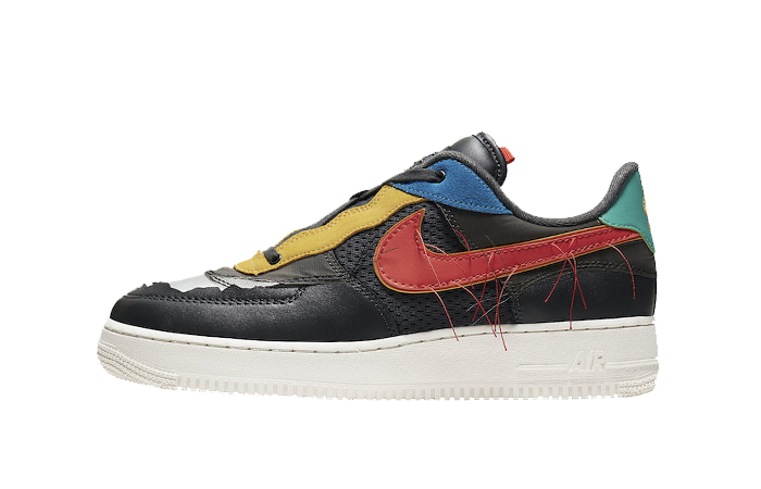 Nike Air Force 1 Black History Month Multicolour CT5534-001 01