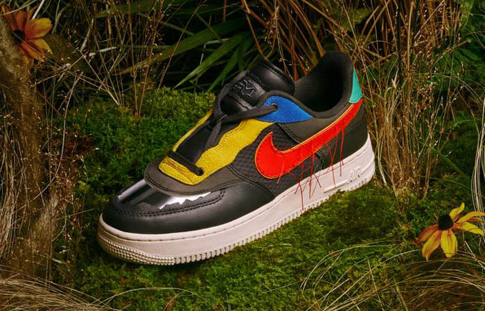 Nike Air Force 1 Black History Month Multicolour CT5534-001 02