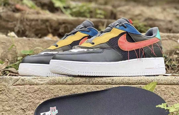 Nike Air Force 1 Black History Month Multicolour CT5534-001 03