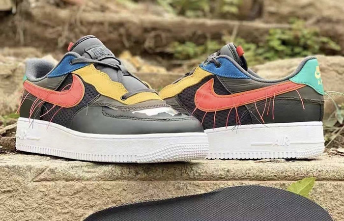 Nike Air Force 1 Black History Month Multicolour CT5534-001 04