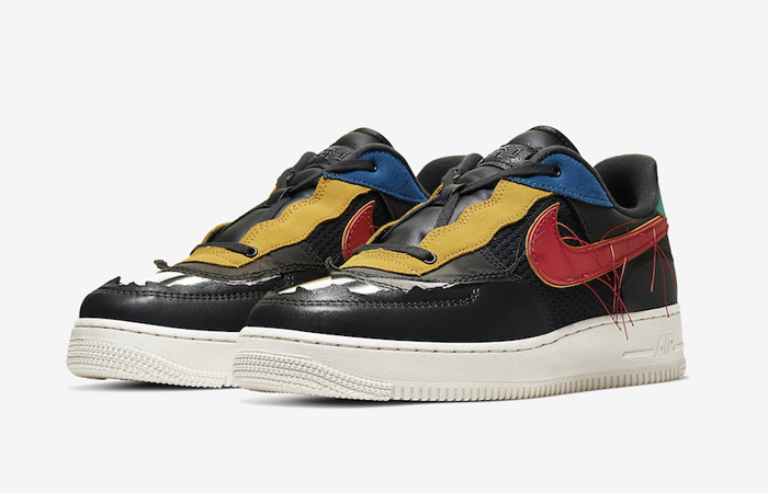 Nike Air Force 1 Black History Month Multicolour CT5534-001 05