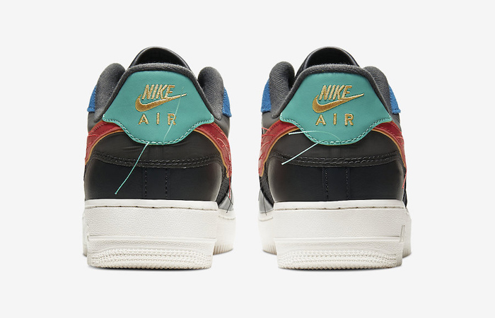 Nike Air Force 1 Black History Month Multicolour CT5534-001 08