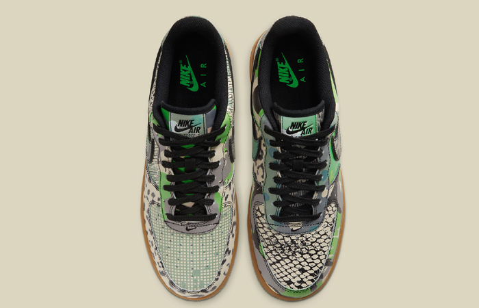 Nike Air Force 1 Low City Of Dreams Black Green CT8441-002 07