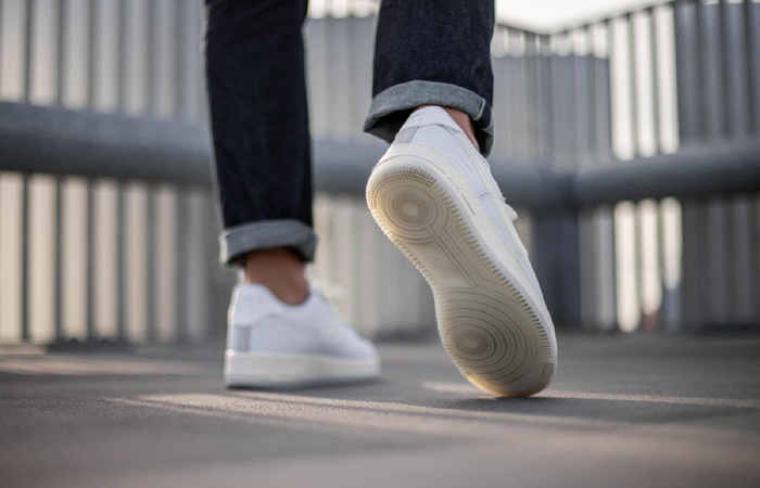 Nike Air Force 1 Low DNA Lucid White CV3040-100 on foot 03