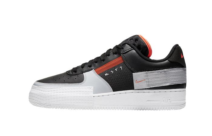 Nike Air Force 1 Type Black Hyper Grey CQ2344-001 01