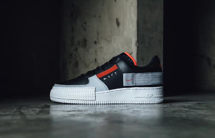 Nike Air Force 1 Type Black Hyper Grey CQ2344-001 02