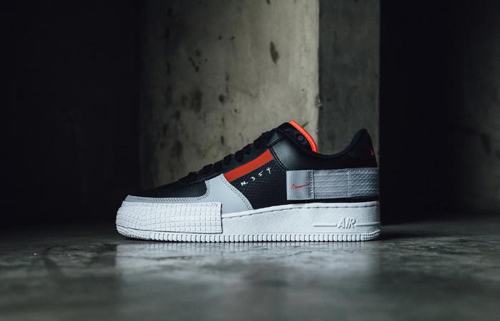 Nike Air Force 1 Type Black Hyper Grey CQ2344-001 02