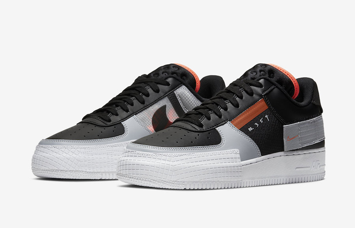 Nike Air Force 1 Type Black Hyper Grey CQ2344-001 03
