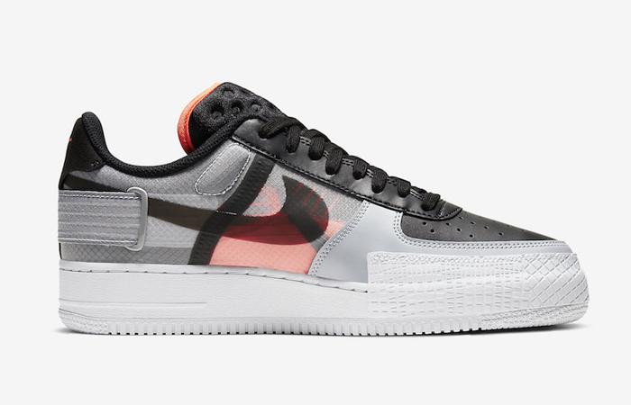 Nike Air Force 1 Type Black Hyper Grey CQ2344-001 04