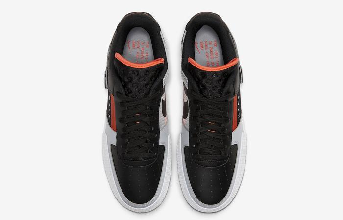 Nike Air Force 1 Type Black Hyper Grey CQ2344-001 05