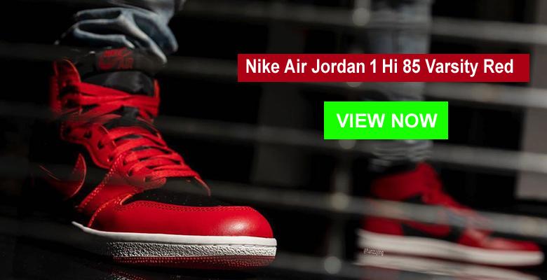 Nike Air Jordan 1 Hi 85 Varsity Red slider