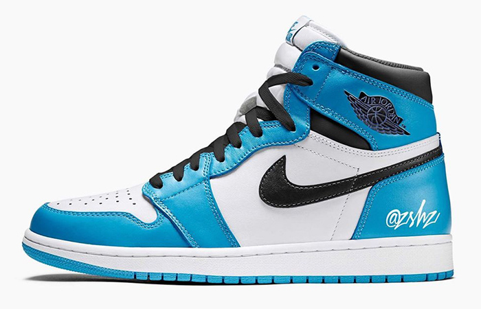 "Nike Air Jordan 1 High OG ""University Blue"" May Drops Early 2021 ft"