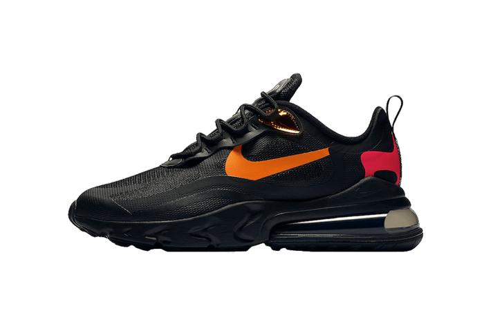 Nike Air Max 270 React Orange Black CV1641-001 01