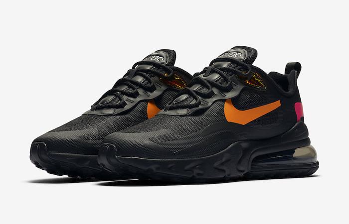 nike air max 270 orange black