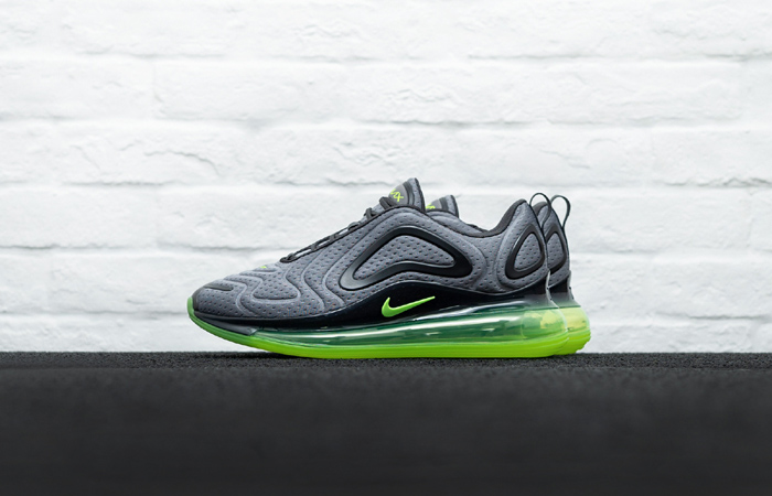 Nike Air Max 720 Mesh Grey Green Volt CN9833-002 02