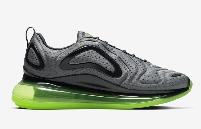 Nike Air Max 720 Mesh Grey Green Volt CN9833-002 06