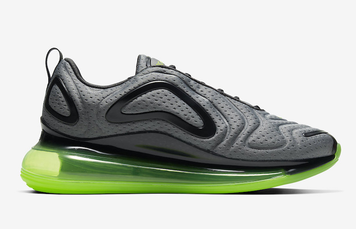Nike Air Max 720 Mesh Grey Green Volt CN9833-002 06