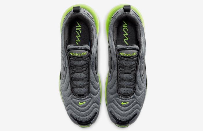 Nike Air Max 720 Mesh Grey Green Volt CN9833-002 07