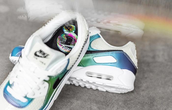 Nike Air Max 90 Bubble Pack Lemon White CT5066-100 07