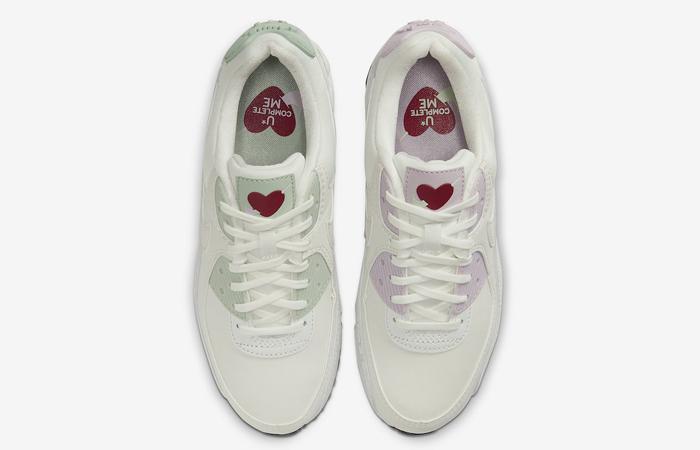 Nike Air Max 90 Valentines Day Purple White CI7395-100 04