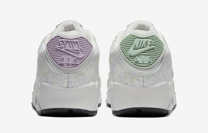 Nike Air Max 90 Valentines Day Purple White CI7395-100 05