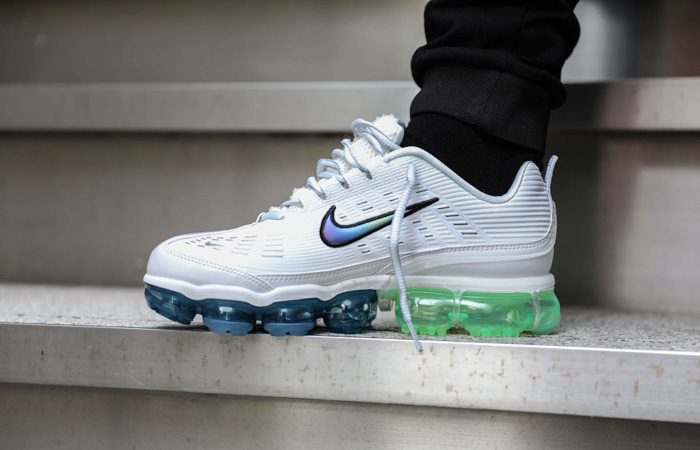 Nike Air Vapormax 360 White Lime CT5063-100 on foot 01