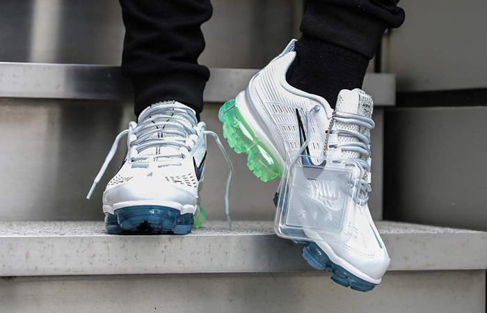 Nike Air Vapormax 360 White Lime CT5063-100 on foot 02