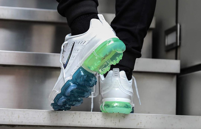 Nike Air Vapormax 360 White Lime CT5063-100 on foot 03