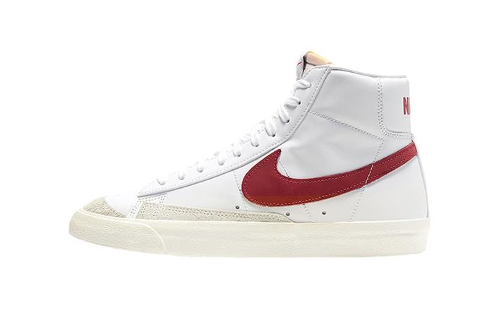 Nike Blazer Mid 77 Red Swoosh BQ6806-102 01