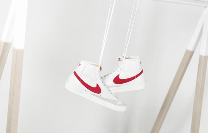 Nike Blazer Mid 77 Red Swoosh BQ6806-102 03