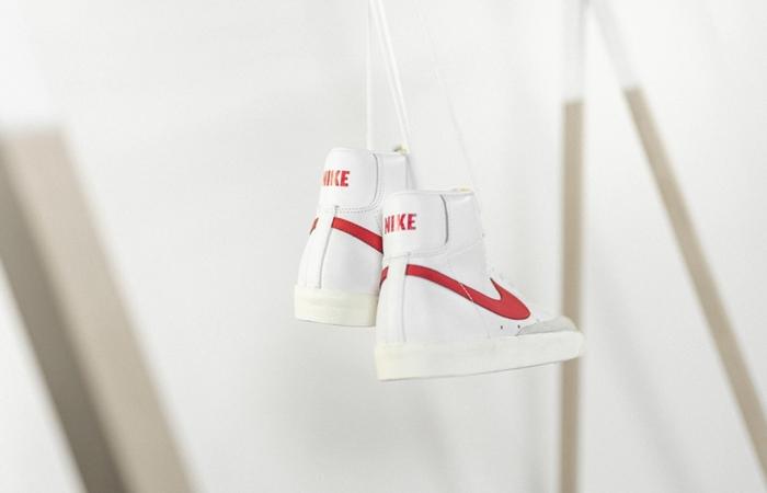 Nike Blazer Mid 77 Red Swoosh BQ6806-102 04