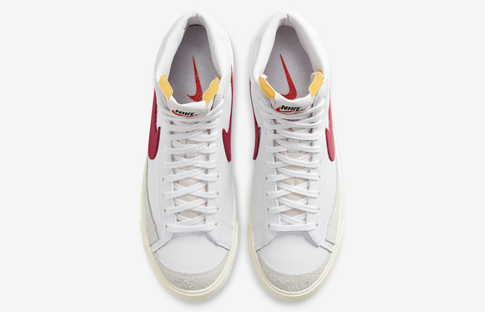 Nike Blazer Mid 77 Red Swoosh BQ6806-102 07