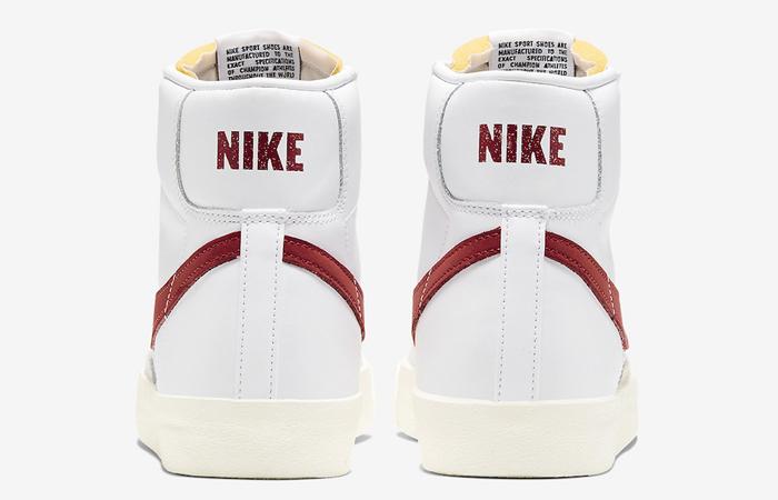 Nike Blazer Mid 77 Red Swoosh BQ6806-102 08