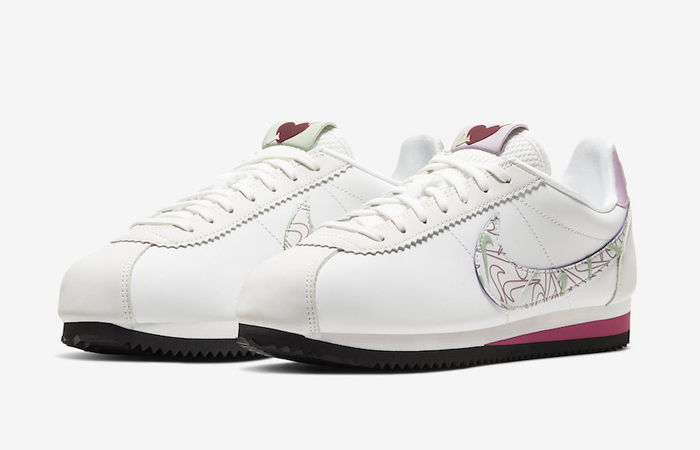 Nike Cortez Valentine's Day Pack Summit White CI7854-100 02