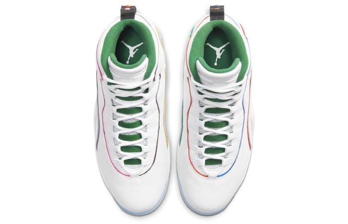 Nike Jordan 10 Wings White Silver CK4352-103 04