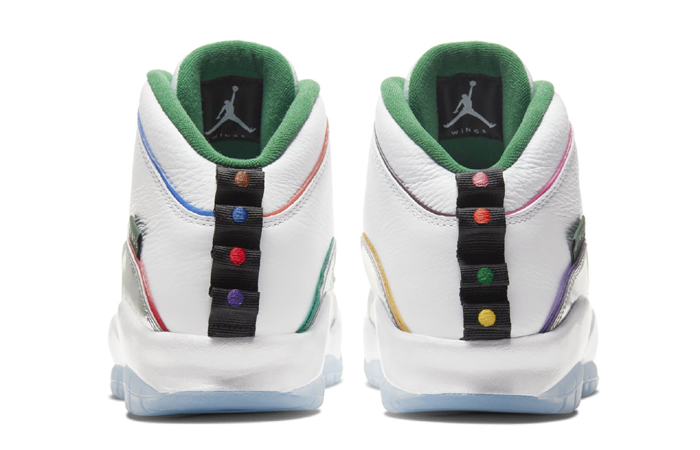 Nike Jordan 10 Wings White Silver CK4352-103 05