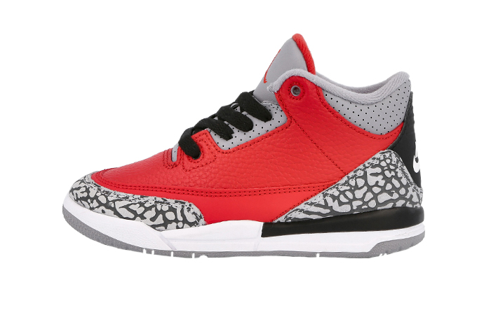 Nike Jordan 3 Chicago All-Star Cement Red CQ0487-600 01