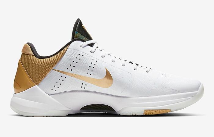 Nike Kobe 5 Protro White Golden CT8014-100 03