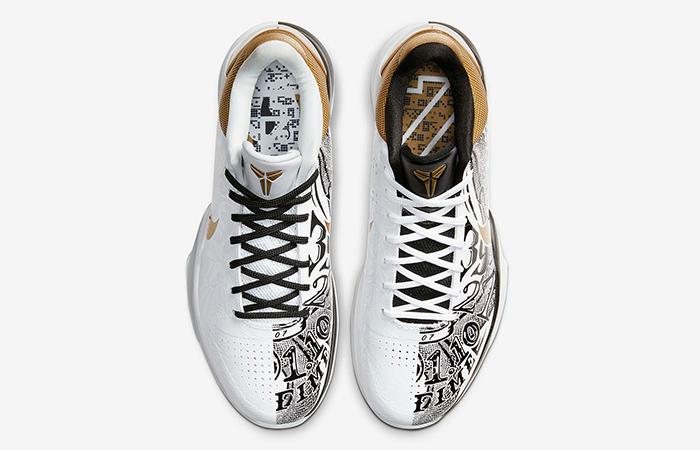 Nike Kobe 5 Protro White Golden CT8014-100 04