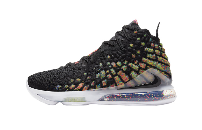 Nike LeBron 17 Black Multi BQ3177-005 01